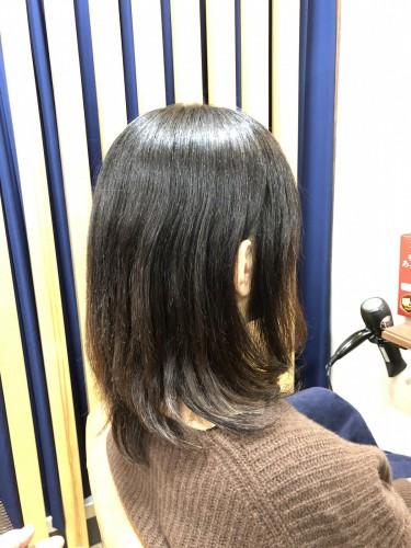 ビーワン、ケイ素の力!自分史上一番キレイな髪へ!細い、絡まる、チリつく、うねる、エイジング、伸びない髪の改善!福岡市南区大橋の髪質改善美容室ニュートリノ